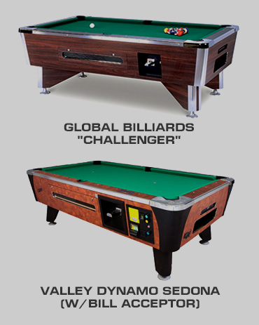 Nevada Novely Pool Tables
